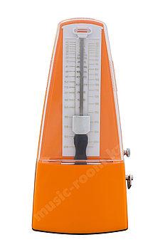 Метроном механический  оранжевый