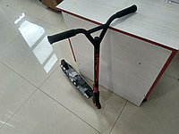🛴 Трюковой самокат Kick Scooter с усиленным хомутом 61 см, колесо 110мм - Красный для трюков!, фото 1