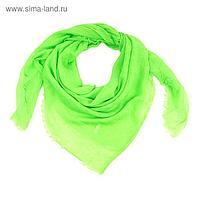 Платок текстильный, размер 110х110, цвет зелёный FC644_50