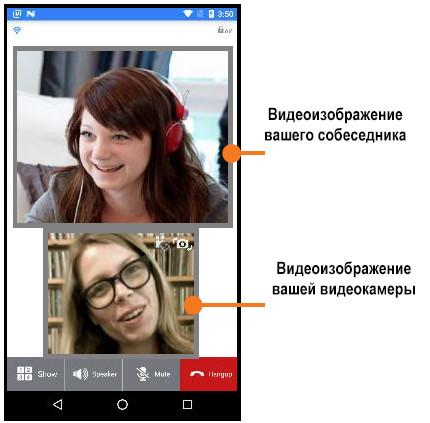 UCS Mobile - видеозвонок