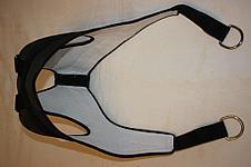 Петля Глиссона (Глисона) Нагрузка до 100 кг - шейный тренажер. Вытяжение петлей, фото 2
