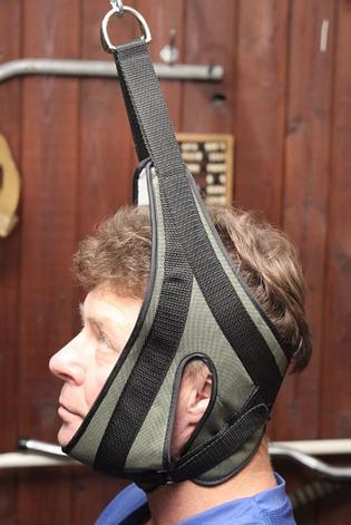 Петля Глиссона (Глисона) Нагрузка до 100 кг - шейный тренажер. Вытяжение петлей , фото 2