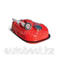 Канистра стальная 5L «AUTOPROFI», горизонтальная, оцинкованная, горловина с навинчив. крышкой, перепуск.