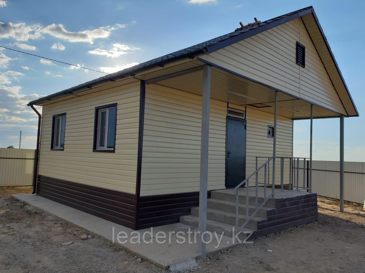 Жилой дом из трех 20 футовых контейнеров