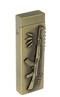 "Зажигалка мужская ""АК-47"" газ 2,5*7,5"