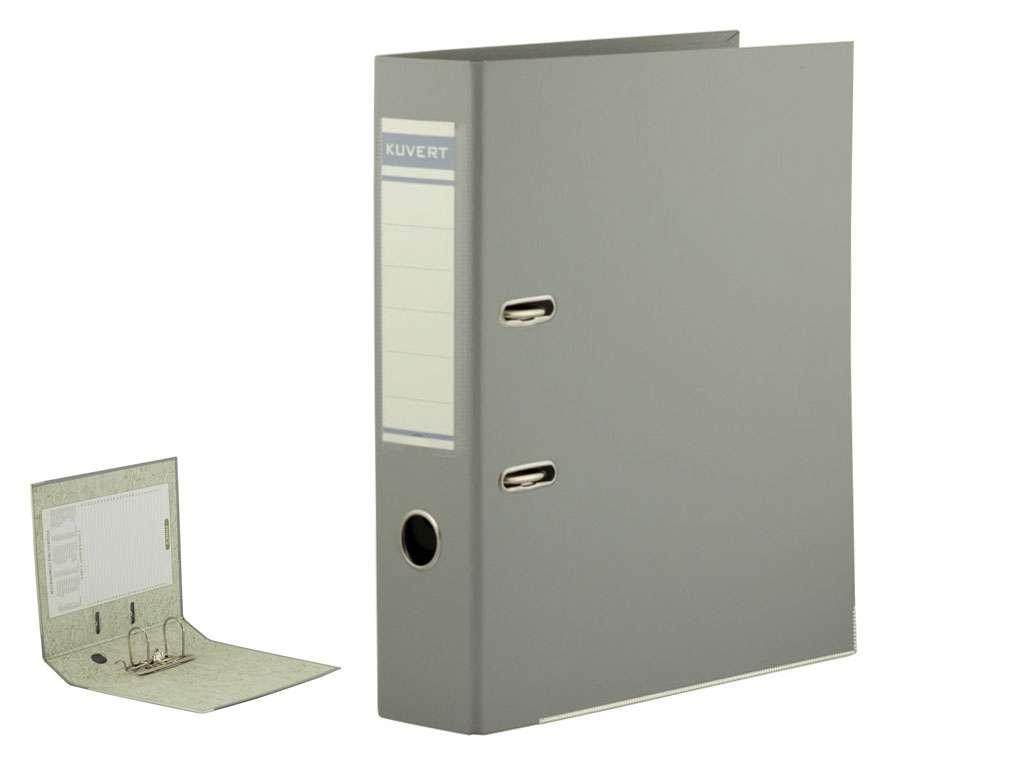 Папка-регистратор KUVERT А4, ширина корешка 50 мм, серая