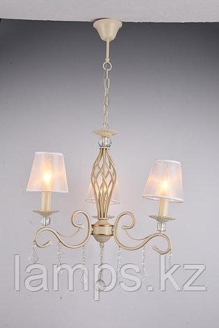 Люстра подвесная MD96395/3 White+Gold , фото 2