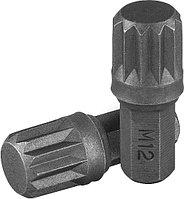 """Вставка-бита 5/16""""DR SPLINE, M12, 30 мм 556712"""