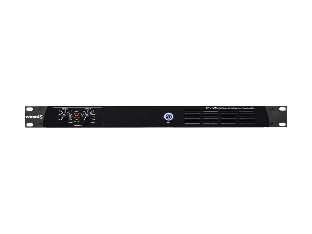 Трансляционный усилитель 2-х канальный Work PA 2120 L