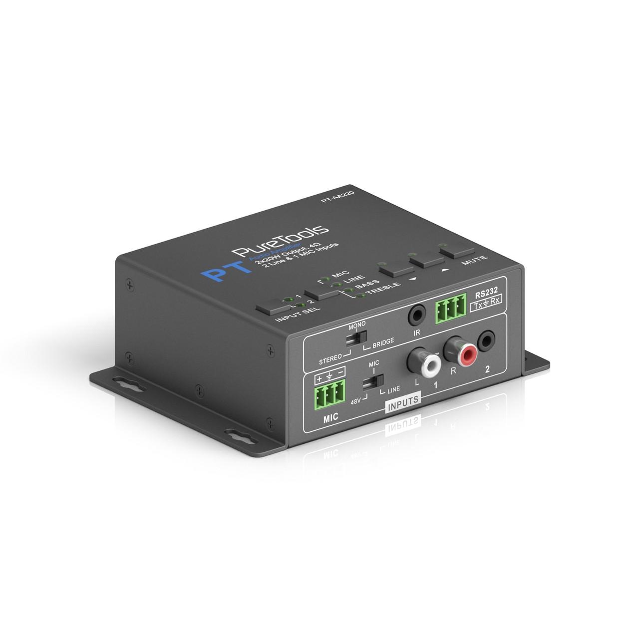 Аудиоусилитель PureLink PT-AA220 (2x20W, 4 Om)
