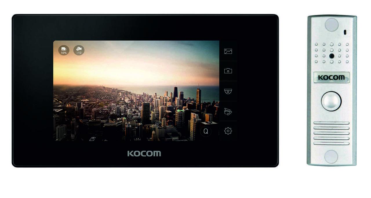 KCV-544SD+KC-MC20(B) Kocom комплект видеодомофона