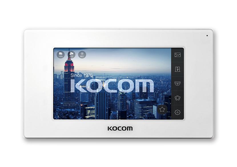 KCV-544SD+KC-MC20(W) Kocom комплект видеодомофона