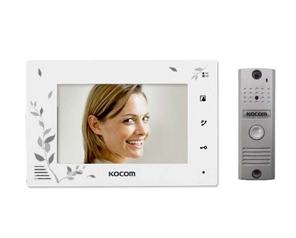 KCV-A374SD+KC-MC20(W) Kocom комплект видеодомофона