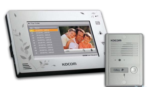 KCV-A374SD+KC-MC24(W) Kocom комплект видеодомофона
