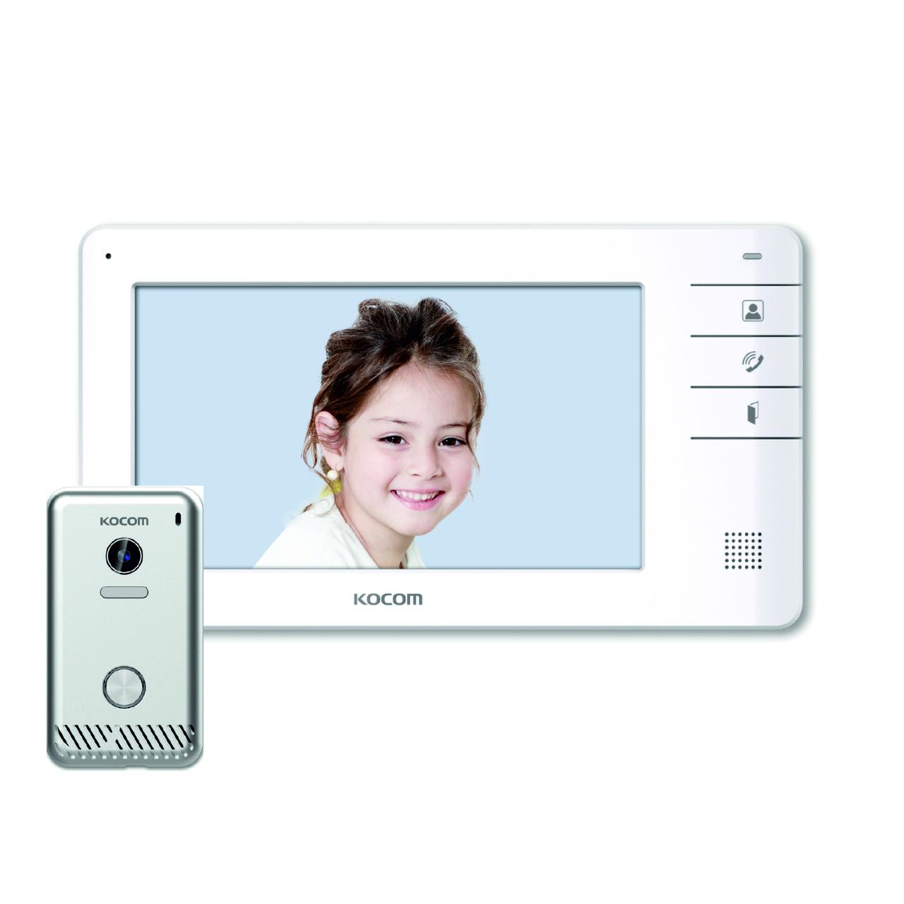 KCV-S701EB DC White Kocom монитор домофона