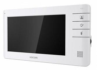 KCV-S701EB White Kocom монитор домофона