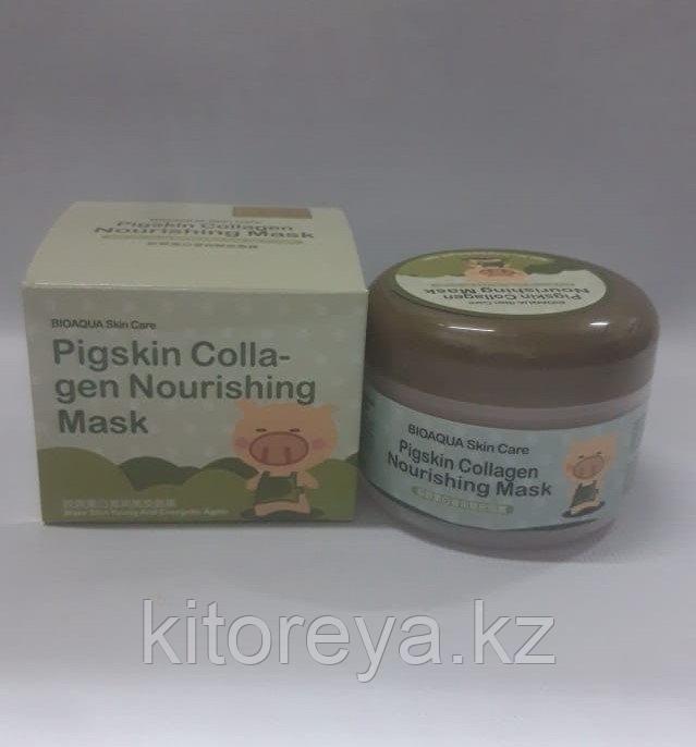 Коллагеновая питательная маска для лица Pigskin Collagen Nourishing Mask