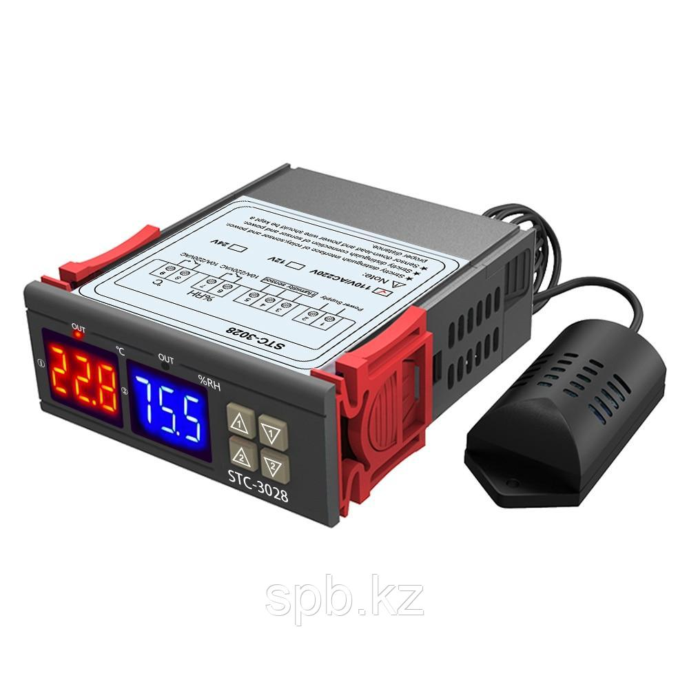 Контроллер температуры и влажности STC-3028