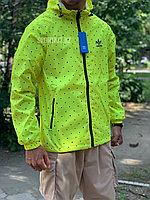 Ветровка Adidas желтая   Бесплатная доставка