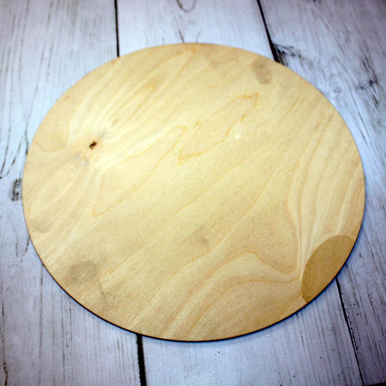 Деревянная подложка под торт 28 см