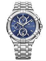 Наручные часы Maurice Lacroix Aikon AI1018-SS002-430-1 44 мм Quartz, фото 1