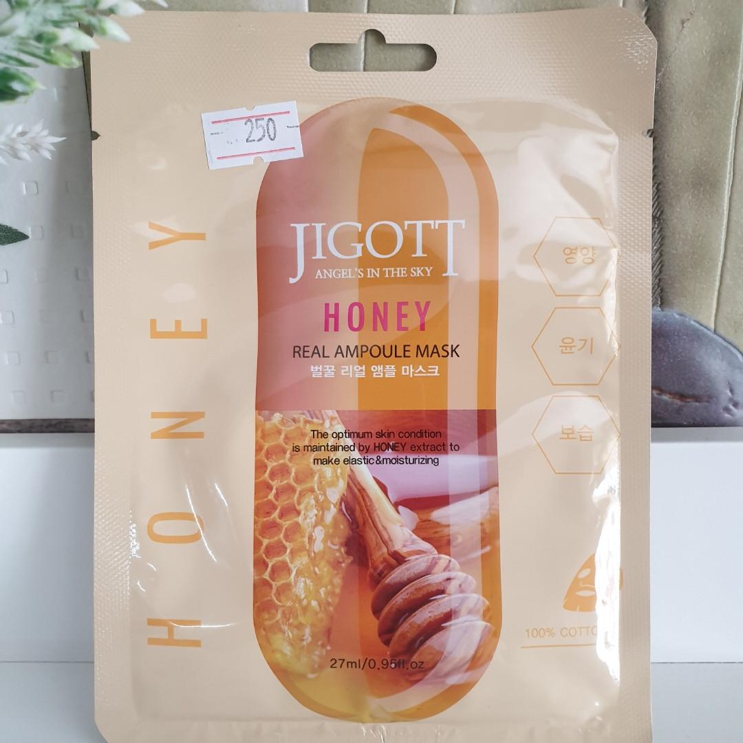 Honey Jigott ( тканевые маски для лица Корея )