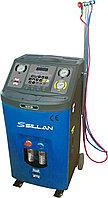 УСТАНОВКА полуавтомат для заправки автомобильных кондиционеров Sillan AC616