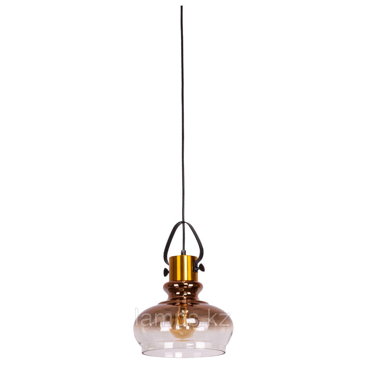 Люстра подвесная 8312-1C METAL GLASS   D230*H340мм