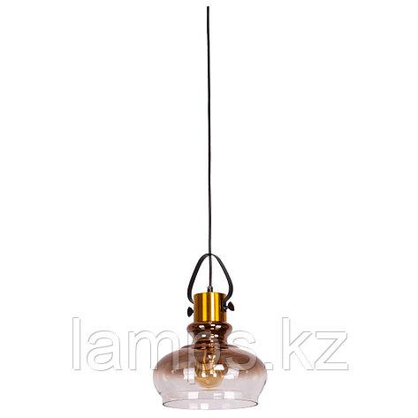Люстра подвесная 8312-1C METAL GLASS   D230*H340мм , фото 2