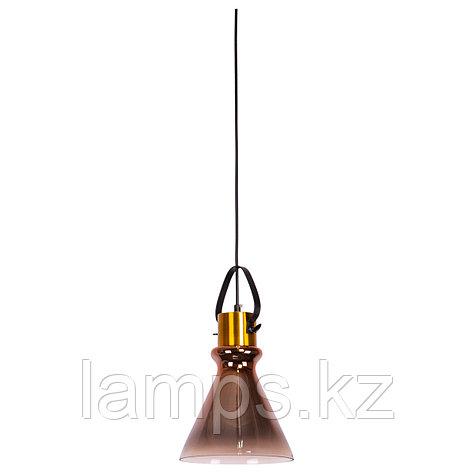 Люстра подвесная 8312-1A METAL GLASS   D200*H340мм , фото 2