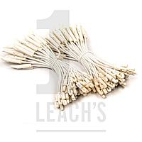Bungee Toggle Ties ALL WHITE (Bag 100) / Растягивающиеся шнурки БЕЛЫЕ (100 шт в пакете)