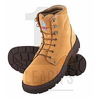 Steel Blue Argyle Wheat High Ankle Boot / Steel Blue Argyle Высокие ботинки пшеничного цвета