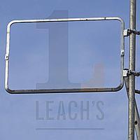 Scaffold Sign Frame (Two size options) / Рама вывески на лесах (2 варианта размера)