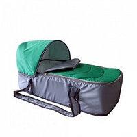 Сумка переноска для новорожденных Фея Кокон зеленый, фото 1