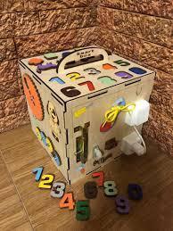 Iwoodbox BusyBox (Бизибокс) 30х30 см