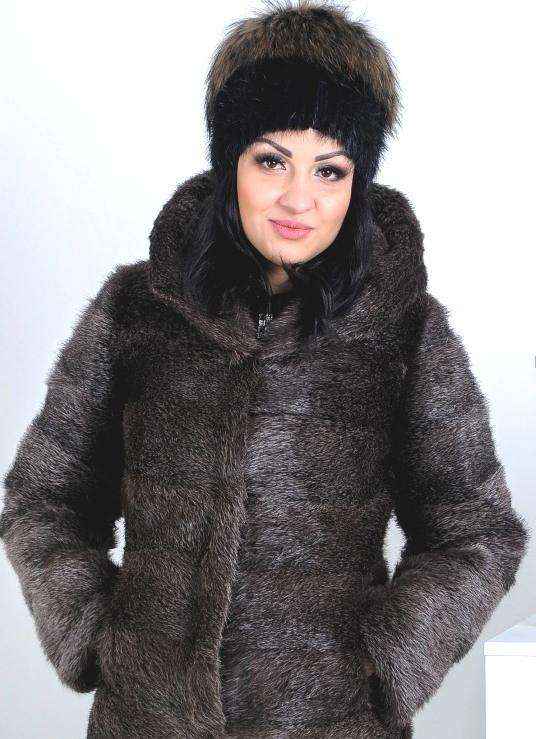 Меховая шапка из енота, купить в казахстане. фото
