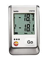Testo Testo 175 T2 2х-канальный логгер данных температуры с внутренним сенсором (NTC) и разъемом для внешн 0572 1752, фото 1