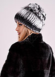 Женская зимняя шапка из меха кролика Рекс | БОБРИКА, фото 3