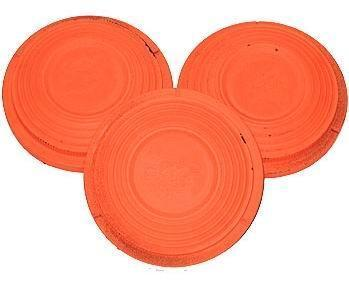 Мишень, тарелочка для стендовой стрельбы ТУ14-106-600-2005, Цвет: Оранжевый