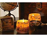 Ароматизированная свеча в стакане BARTEK (80*75) Антитабак