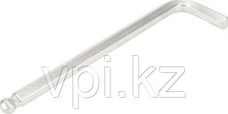 Ключ имбусовый,  HEX - шестигранный, шаровый 11*185мм Автодело