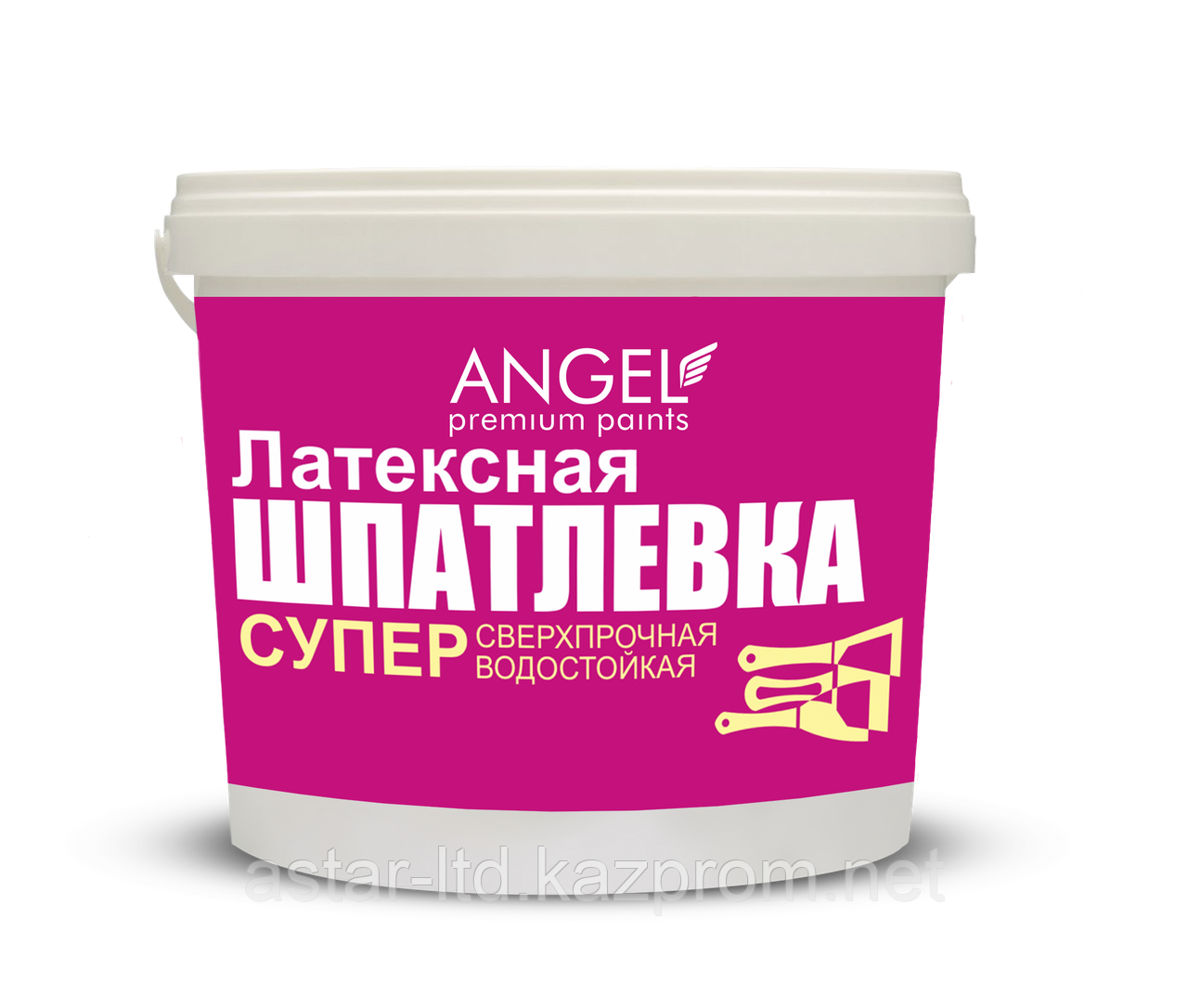 """Шпатлевка латексная """"Angel""""  15 кг"""