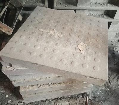 Плита напольная чугунная