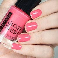 ART-VISAGE Лак для ногтей  GLOSS FINISH 112 лососевый