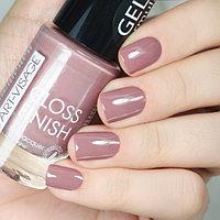 ART-VISAGE Лак для ногтей GLOSS FINISH 114 какао