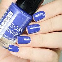 ART-VISAGE Лак для ногтей GLOSS FINISH 121 индиго