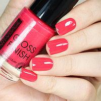 ART-VISAGE Лак для ногтей GLOSS FINISH 125 малиновый сироп