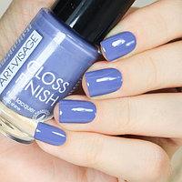 ART-VISAGE Лак для ногтей GLOSS FINISH 129 голубика