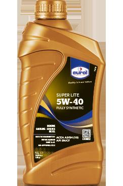 Моторное масло Eurol Super Lite 5W-40 синтетическое для бензиновых и дизельных двигателей 1L
