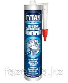 Герметик силиконовый санитарный Tytan (РФ) белый 310 мл